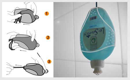 Colgador de jab n ba o dise o design social for Colgador jabon ducha